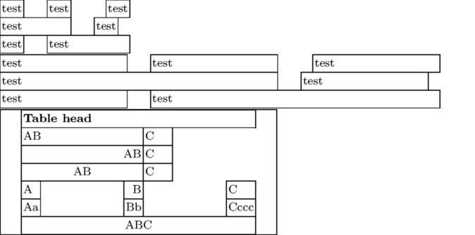 TABLE - ConTeXt wiki