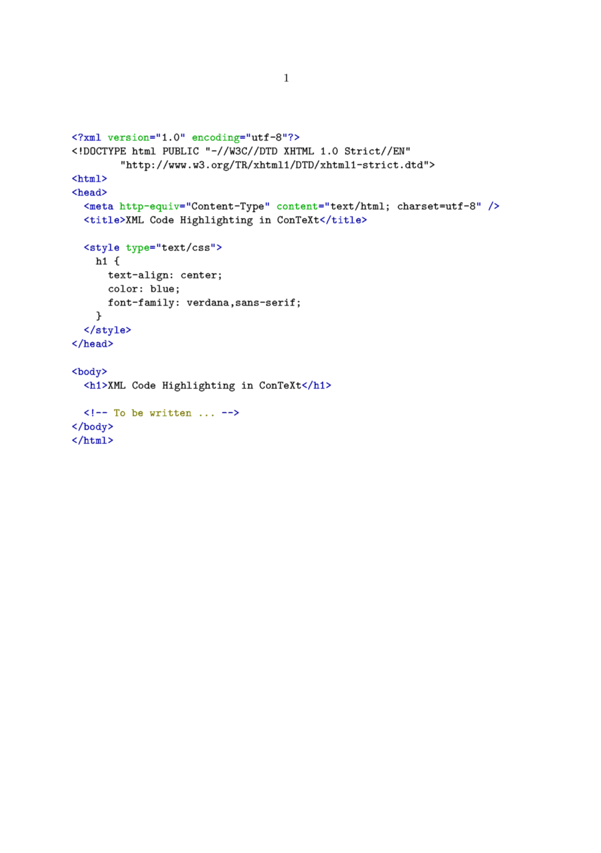 Verbatim text - ConTeXt wiki